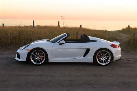 Vvuzz Tested 2016 Porsche Boxster Spyder