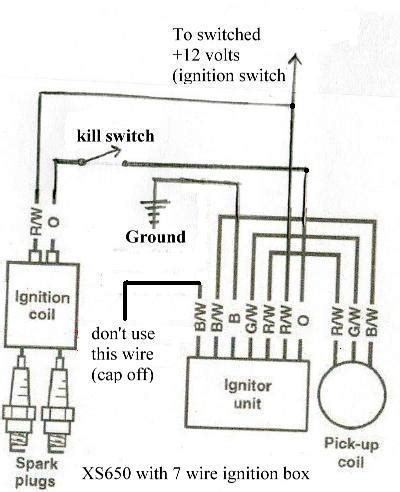 basic 12 volt ignition wiring diagram wiring diagrams