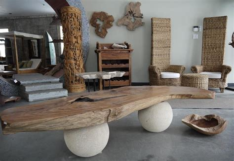 bali style coffee table bali wood interior home decor home decor