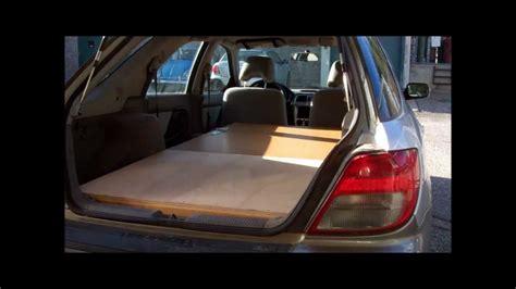 subaru bed wooden subaru bed