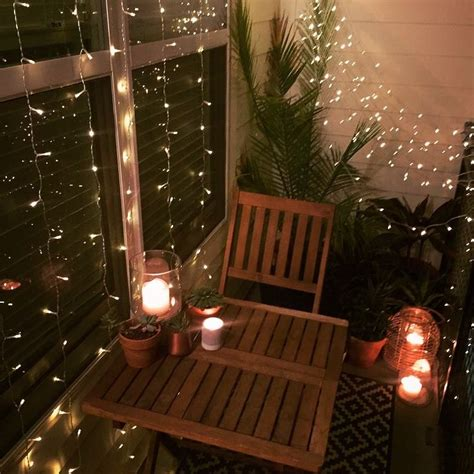 25 best ideas about apartment string lights on pinterest small balcony decor ideas for an apartment hanging string