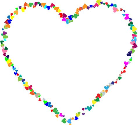 Decorating by Heart Outline Thin Clip Art At Vector Clip Art Gclipart Com