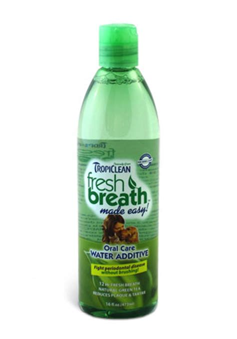 water additive for breath tropiclean fresh breath care water additive in health wellness