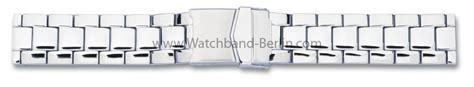Metall Uhr Polieren by Edelstahl Metall Uhrenarmband Massiv 20 22 24mm Poliert