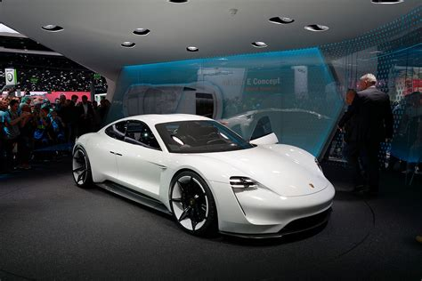 electric sports cars porsche s mission e will change the for electric