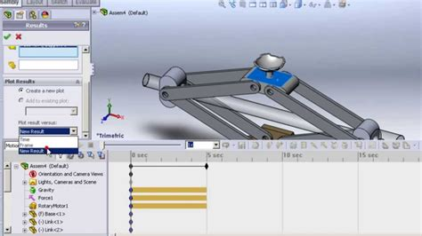 tutorial solidworks simulation solidworks 2011 tutorials assembly motion simulation