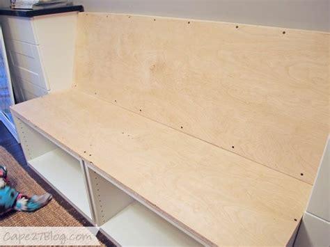 diy hauptdekor projekt ideen sitzbank selber bauen haben sie spa 223 mit dem praktischen