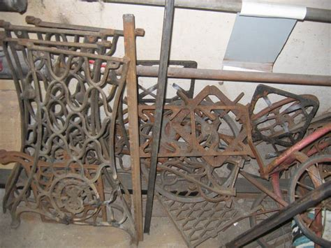 Handmade Machine Parts - vintage handmade pit from a treadle sewing machine