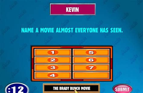 Family Feud Powerpoint Template Beepmunk Family Feud Free Template