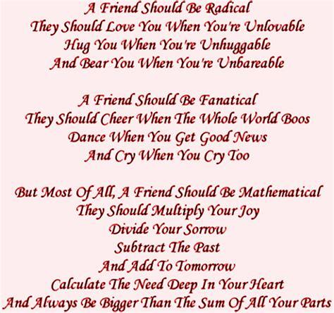 poem of day day celebration friendship day poems