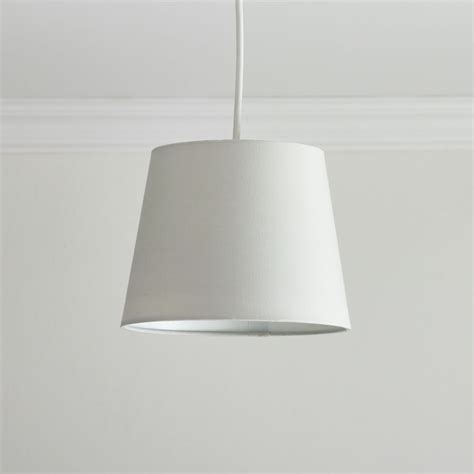 Wilkinsons Ceiling Light Shades Wilko Tapered Shade Grey 22cm Times Uk 163 4 00