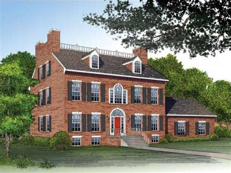 Federal House Plans by Federal Style Home Federal Style Homes