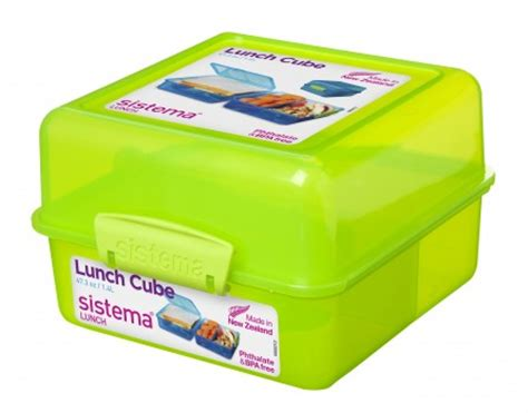 Sistema 1 65l Bento Lunch To Go sistema 1 4l lunch cube with compartments name your dummy