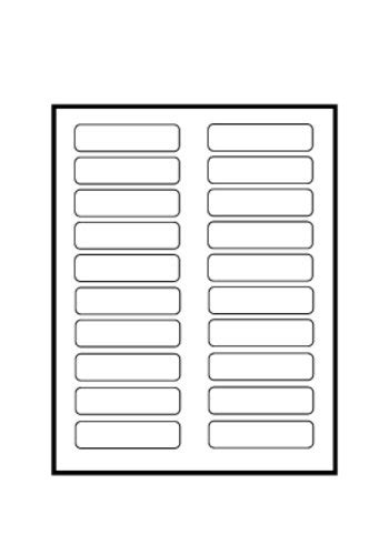 Avery 174 Tabbed Bookmark Plastic Dividers 5 Tab 24910 Template Avery Insertable Dividers Template