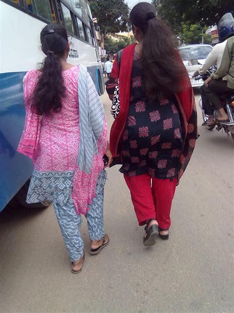pakistani aunties back view street running big dic aunties