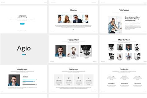 Agio Powerpoint Presentation By Punkl On Envato Elements Envato Templates
