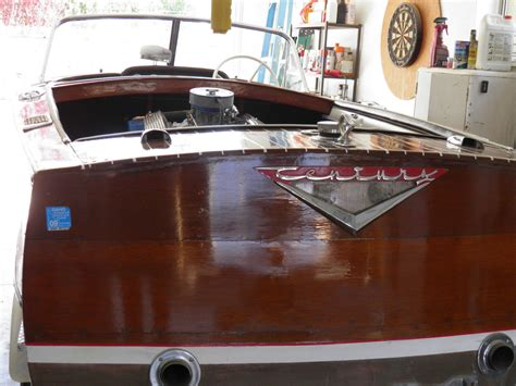 mahogany century boats for sale century mahogany planked inboard powered by ford 1963 for