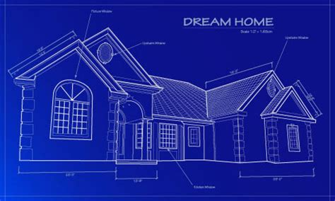 blue prints house residential home blueprint residential metal building