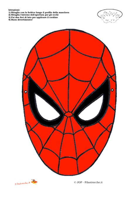 testo uomo ragno travestimenti supereroi maschera uomo ragno sta