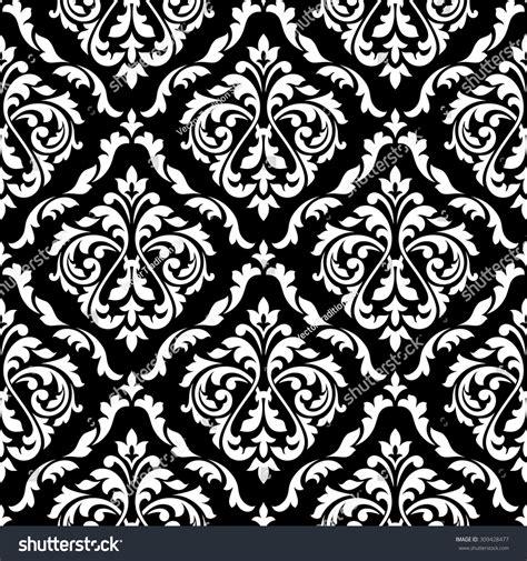 seamless pattern shutterstock white foliage damask seamless pattern victorian stock