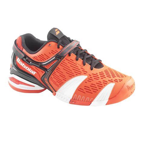 mens orange tennis shoes babolat babolat propulse 4 all court mens tennis shoe in