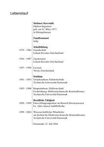 Tabellarischer Lebenslauf Dissertation Lebenslauf Entwurf Lebenslauf Beispiel