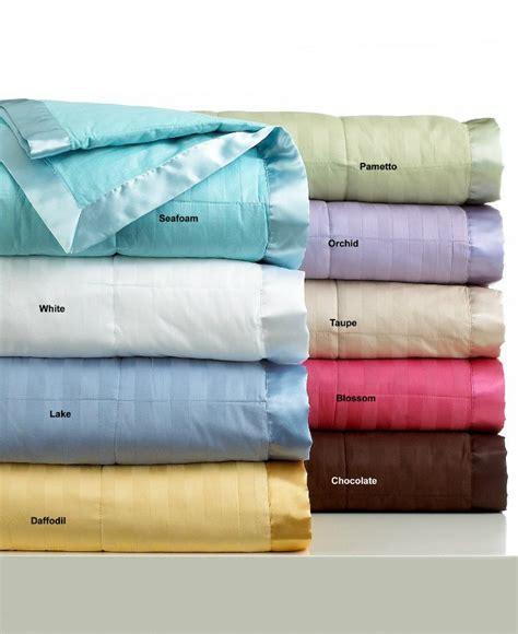 Striped Valances Charter Club Damask Stripe Blanket White Twin Down Alternative