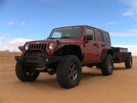 Jeep Road Cer Trailer Jeep Builds A Trail Ready Road Cer Trailer For Back