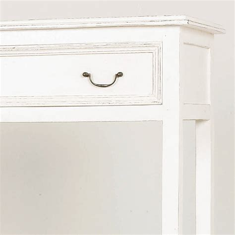Chest Drawer Consol Handel Ring 01 wooden console table with one drawer by out there