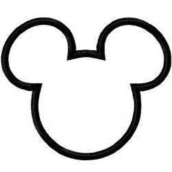 Mickey Mouse Template by Mickey Mouse Ears Template Printable Cliparts Co