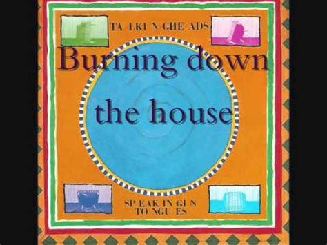 burning down the house talking heads talking heads speaking in tongues 1 burning down the house youtube