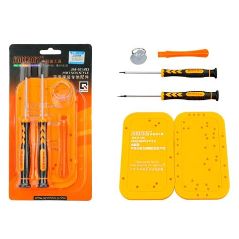 Obeng Set Jakemy Jm 8152 Original obeng tool set merk jakemy jm 8120 for iphone original