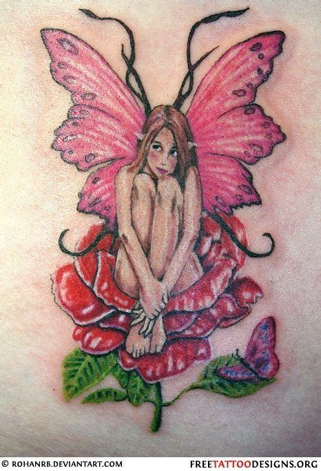 fairy rose tattoo 19 best images on fairies