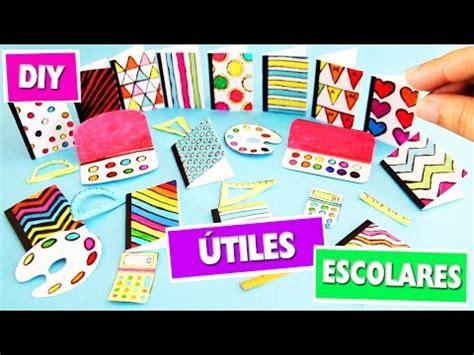 imagenes de utiles escolares de ever after high diy 218 tiles escolares en miniatura facilisimo