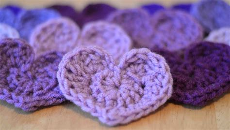 pattern of crochet cute little heart free crochet pattern