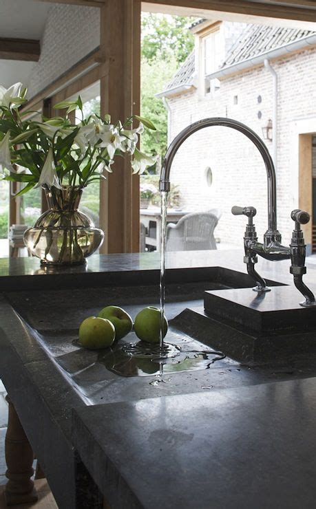 Soapstone Bathroom Sink Soapstone Kitchen Sink Bridge Faucet For The Home