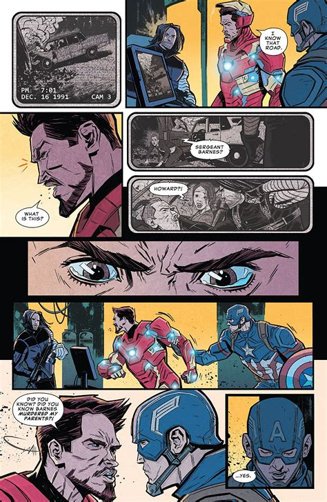 Avengers Infinity War Prelude Comic Introduces Iron Man S