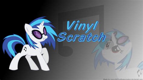 pvc wallpaper wallpaper clearance five dollars or less vinyl scratch wallpaper by mlpwallpapermaker on deviantart