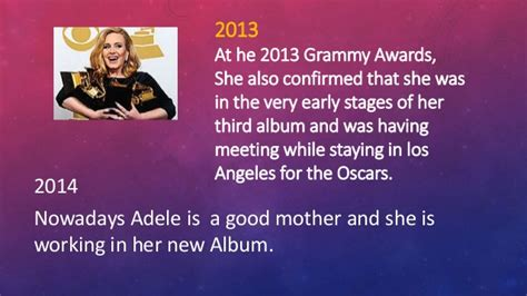 adele biography powerpoint adele biography