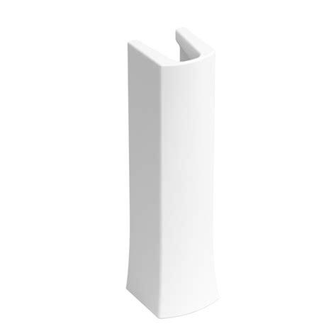 pedestal white kohler elmbrook pedestal in white k r5334 0 the home depot