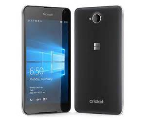 Rugged Cellphone Microsoft Lumia 650 Bringing Windows 10 Mobile To Cricket