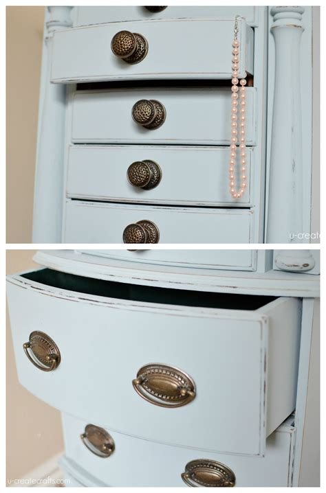 chalk paint jewelry armoire jewelry armoire makeover with valspar chalky finish paint