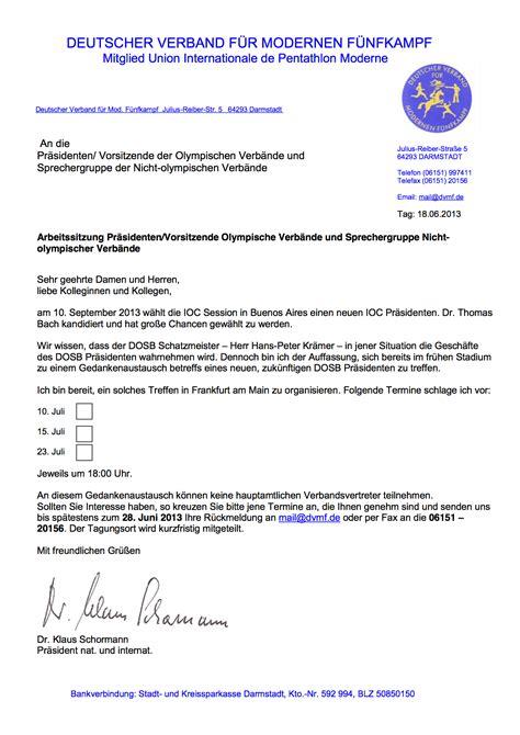 Musterbrief Einladung B Rgermeister grit hartmann sport politics