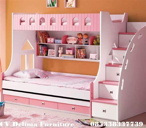 Gambar Dan Kasur Sorong Anak tempat tidur tingkat anak perempuan ranjang susun harga