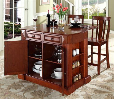 portable kitchen islands with breakfast bar the ideas of decorating kitchen with two tone kitchen