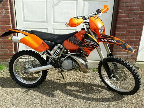 motocross bikes road ktm exc 250 2 stroke enduro bike road motocross 125