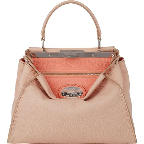 Fendis Fendi To You Large Satchel by Lyst Fendi Selleria Peekaboo Bag In