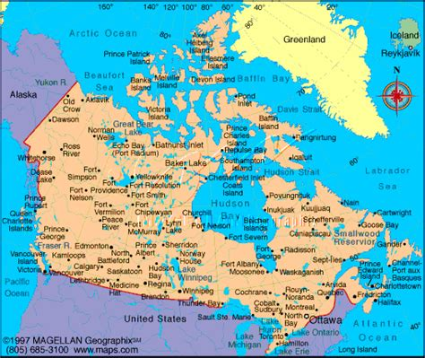 map of cities in usa and canada indigenous signs canada