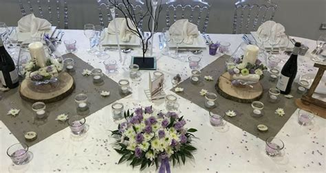 Decoration Table Ronde Mariage by Chemin De Table Ronde Mariage Table Ronde Chemins De
