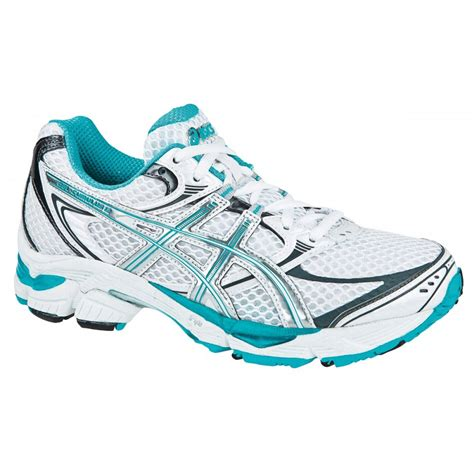 asics running shoes gel cumulus 12 road running shoes s white green at